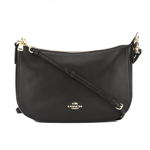 Coach Black Leather Chelsea Crossbody Bag (New with Tags)