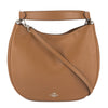 Coach Saddle Burnished Glovetanned Leather Nomad Hobo Bag (New with Tags)