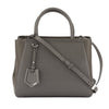 Fendi Grey Leather Petite 2Jours Bag (New with Tags)
