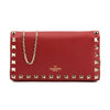 Valentino Red Leather Small Rockstud Shoulder Bag (New with Tags)