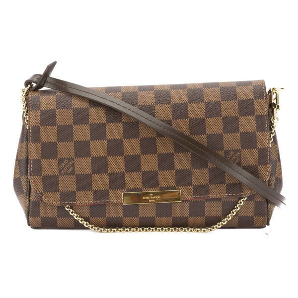 7d969d3495a0 Louis Vuitton Damier Ebene Favorite MM Bag (Pre Owned) - 3270013 ...
