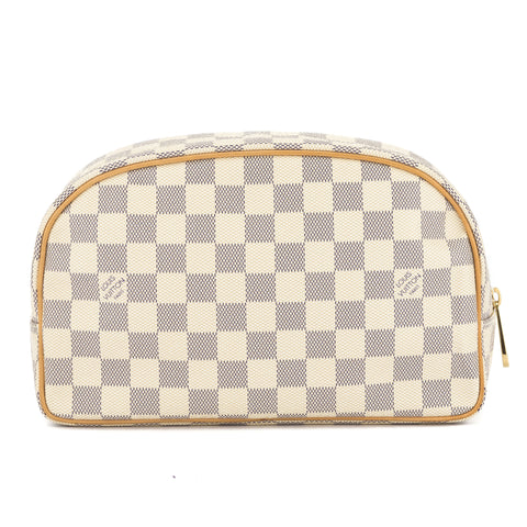 Louis Vuitton Damier Azur Toiletry Kit (Pre Owned)