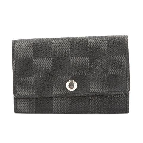 Louis Vuitton Damier Graphite Multicles 6-Key Case (Pre Owned)