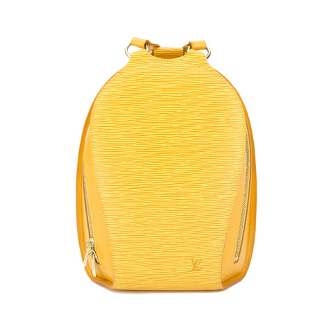 Louis Vuitton Tassil Yellow Epi Mabillon Backpack (Pre Owned)