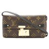 Louis Vuitton Monogram Triangle Chain Wallet (Pre Owned)