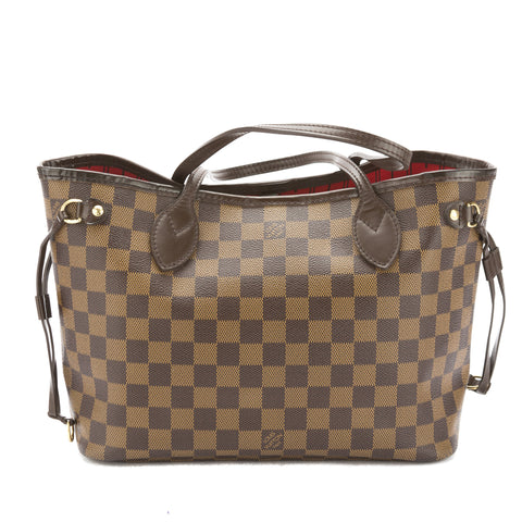 Louis Vuitton Damier Ebene Neverfull PM Bag (Pre Owned)