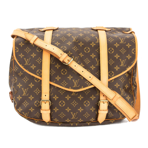 Louis Vuitton Monogram Saumur 43 Bag (Pre Owned)