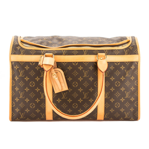 Louis Vuitton Monogram Dog Carrier 50 (Pre Owned)