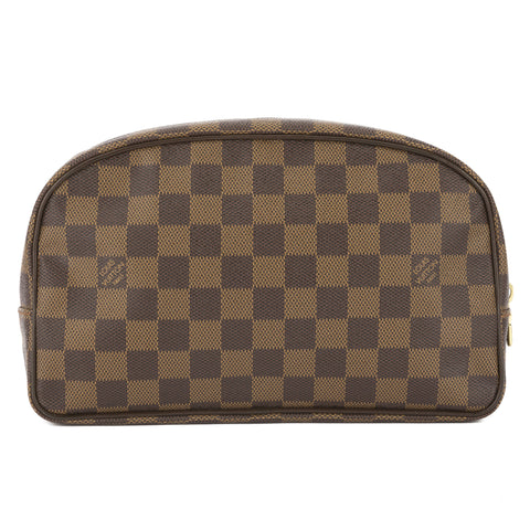 Louis Vuitton Damier Ebene Toiletry 25 Bag  (Pre Owned)