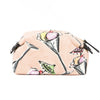 Chanel Pink Canvas Ice Cream Cosmetic Pouch (Pre Owned)