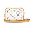 Louis Vuitton White Monogram Multicolore Truth Wapiti Accessory Case (Pre Owned)