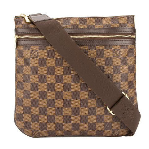 Louis Vuitton Damier Ebene Pochette Bosphore Shoulder Bag  (Pre Owned)