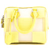Louis Vuitton Yellow Damier Optic Mesh Speedy Cube PM Bag (Pre Owned)