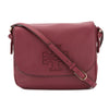 Tory Burch Dark Merlot Leather Harper Messenger Bag (New With Tags)