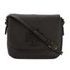 Tory Burch Black Leather Harper Messenger Bag (New With Tags)