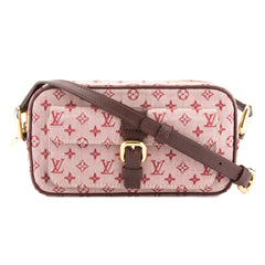 Louis Vuitton Red Monogram Mini Lin Juliette MM Bag (Pre Owned)