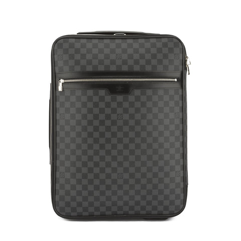 Louis Vuitton Damier Graphite Pegase 55 Bag (Pre Owned)