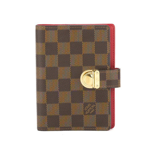 Louis Vuitton Damier Ebene Agenda PM Day Planner Cover (Pre Owned)