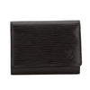 Louis Vuitton Noir Epi Enveloppe Cartes De Visite Card Case (Pre Owned)