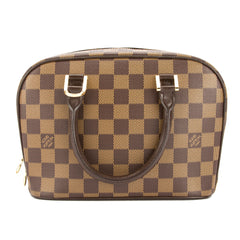 Louis Vuitton Damier Ebene Sarria Mini Bag (Pre Owned)