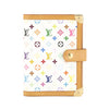 Louis Vuitton White Monogram Multicolore Agenda PM Day Planner Cover (Pre Owned)