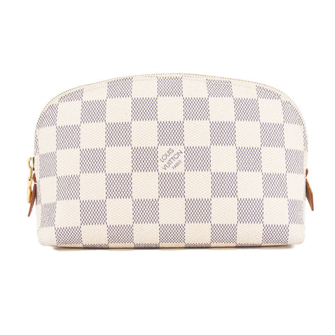 Louis Vuitton Damier Azur Cosmetic Pouch (Pre Owned)
