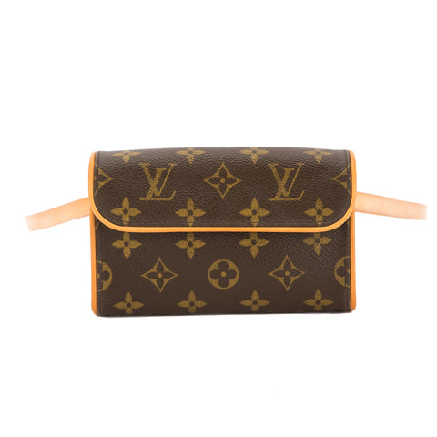 Louis Vuitton Monogram Florentine Pochette Bum Bag (Pre Owned)