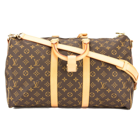 Louis Vuitton Monogram Keepall Bandouliere 45 Bag (Pre Owned)