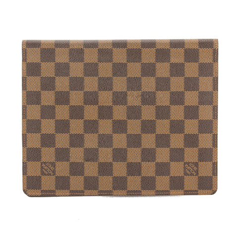 Louis Vuitton Damier Ebene Desk Agenda Cover (Pre Owned)