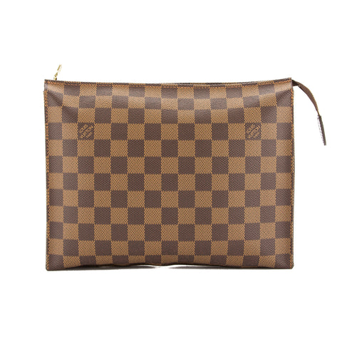 Louis Vuitton Damier Ebene Poche Toilette 26 Bag (Pre Owned)