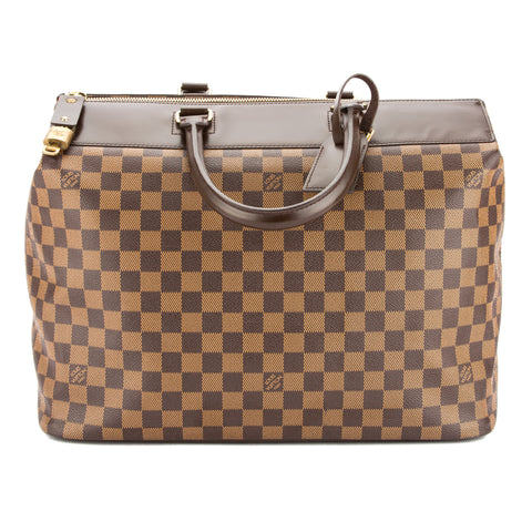 Louis Vuitton Damier Ebene Greenwich PM Bag (Pre Owned)