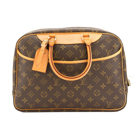 Louis Vuitton Monogram Deauville Bag (Pre Owned)