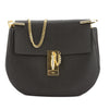Chloé Black Leather Small Drew Shoulder Bag (New with Tags)