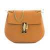 Chloé Caramel Leather Small Drew Shoulder Bag (New with Tags)