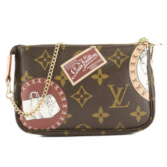 Louis Vuitton Monogram Patch Mini Pochette Accessoires Bag (Pre Owned)