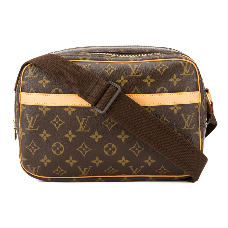 Louis Vuitton Monogram Reporter PM Bag (Pre Owned)