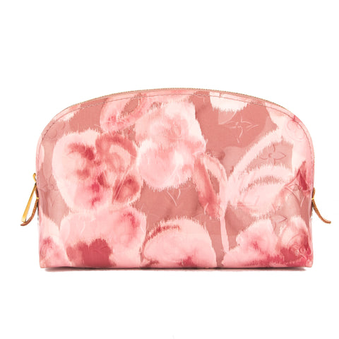 Louis Vuitton Rose Monogram Vernis Ikat Cosmetic Pouch (Pre Owned)