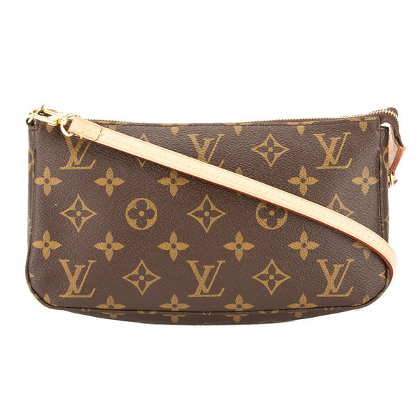 e949059eb34a Louis Vuitton Monogram Pochette Accessoires Long Strap Bag Pre Owned