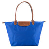 Longchamp Blue Nylon Le Pliage Large Tote Bag (New with Tags)