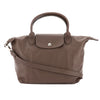 Longchamp Natural Metis Leather Le Pliage Cuir Bag (New with Tags)