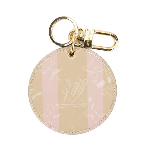 Louis Vuitton Dune Monogram Vernis Sweet Stripes Mirror Bag Charm (Pre Owned)