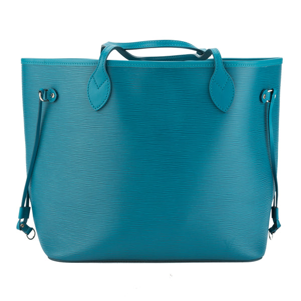 Louis Vuitton Cyan Epi Neverfull MM Bag (Pre Owned)