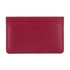 Louis Vuitton Fuchsia Epi Porte-Cartes Simple Card Holder (Pre Owned)