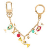 Louis Vuitton Multicolore Monogram Chain Porte Cles Derris Key Holder Charm (Pre Owned)