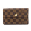 Louis Vuitton Damier Ebene Alexandra Wallet (Pre Owned)