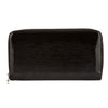 Louis Vuitton Noir Epi Electric Zippy Long Wallet (Pre Owned)