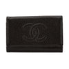 Chanel Black Caviar Leather 6-Ring Key Case (Pre Owned)