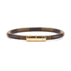 Louis Vuitton Damier Ebene Keep It Bracelet (Pre Owned)