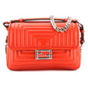 Fendi Red Leather Double Micro Baguette (New with Tags)