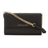 Michael Kors Black Saffiano Leather Jet Set Travel Large Phone Crossbody Bag (New with Tags)